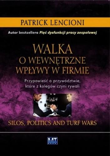 Okładka książki Walka o wewnętrzne wpływy w firmie