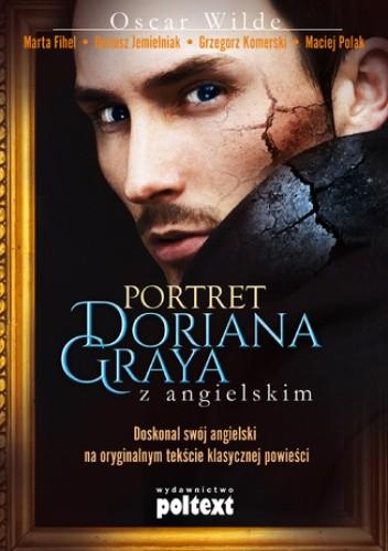 Okładka książki Portret Doriana Graya z angielskim