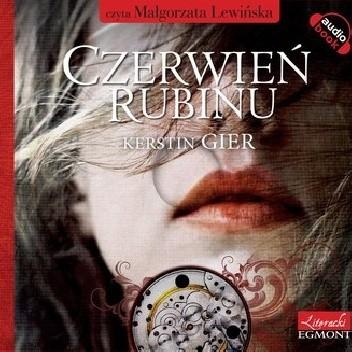 Okładka książki Czerwień Rubinu. Trylogia czasu