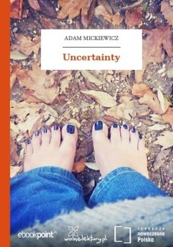 Okładka książki Uncertainty