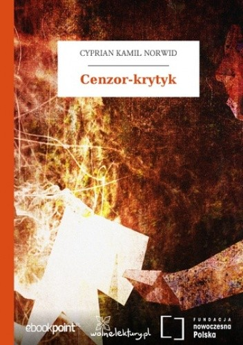 Okładka książki Cenzor-krytyk