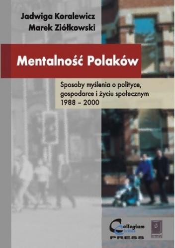 Okładka książki Mentalność Polaków