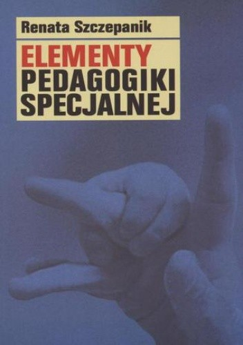 Okładka książki Elementy pedagogiki specjalnej