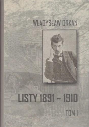 Okładka książki Listy 1891-1910 t.1