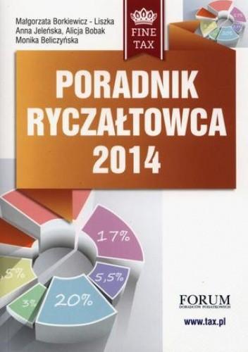 Okładka książki Poradnik ryczałtowca 2014