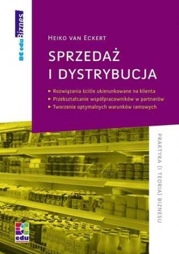 Okładka książki Sprzedaż i dystrybucja