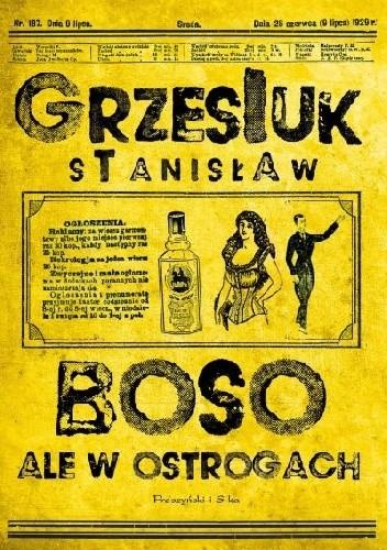 Okładka książki Boso, ale w ostrogach
