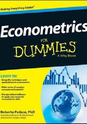 Okładka książki Econometrics for Dummies