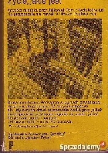 Okładka książki Życie, jakie jest