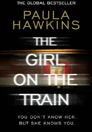 Okładka książki The girl on the train