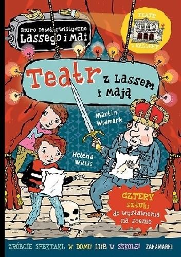 Okładka książki Teatr z Lassem i Mają