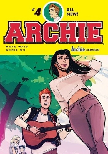 Okładka książki Archie #4