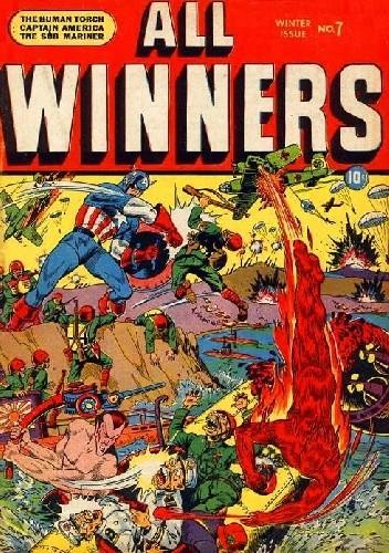 Okładka książki All Winners Comics #7