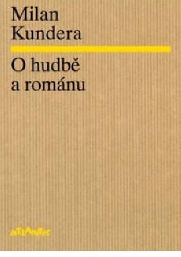 Okładka książki O hudbě a románu