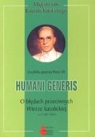 Humani generis. O błędach przeciwnych Wierze katolickiej