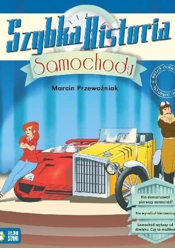 Okładka książki Szybka historia samochodu