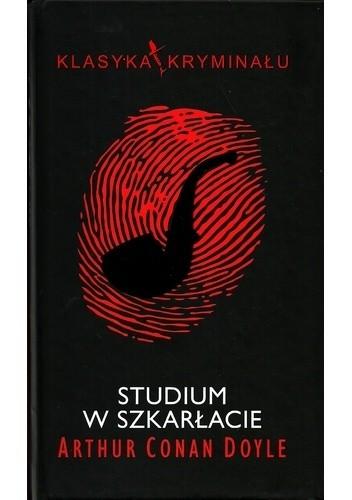 Okładka książki Studium w szkarłacie