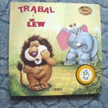 Okładka książki Trąbal i Lew