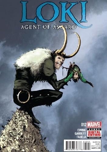 Okładka książki Loki: Agent of Asgard #12