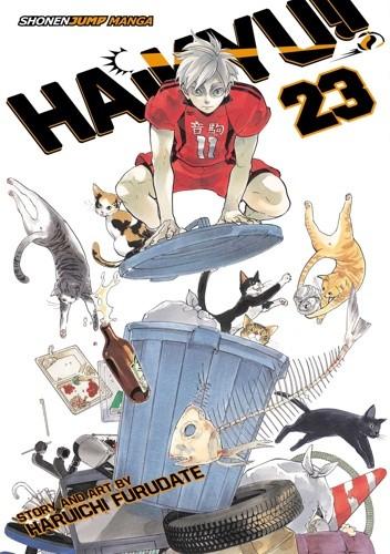 Okładka książki Haikyu!! vol. 23