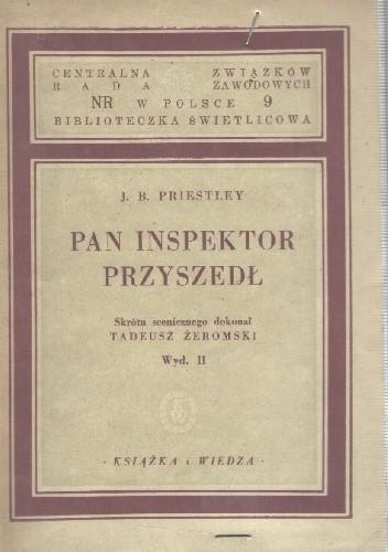 Okładka książki Pan inspektor przyszedł
