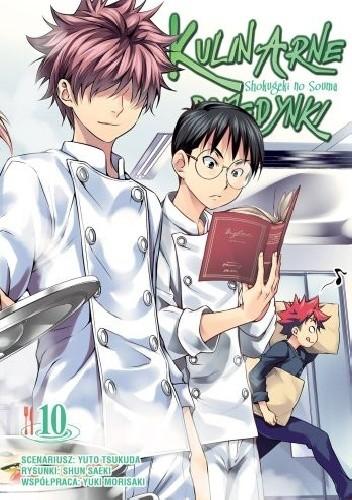 Okładka książki Kulinarne Pojedynki - Shokugeki no Souma #10