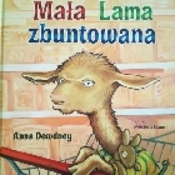 Okładka książki Mała Lama zbuntowana