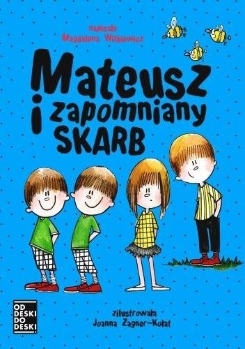 Okładka książki Mateusz i zapomniany skarb