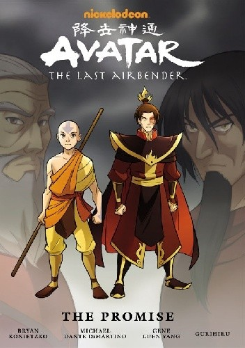 Okładka książki Avatar: The Last Airbender. The Promise. Library Edition.