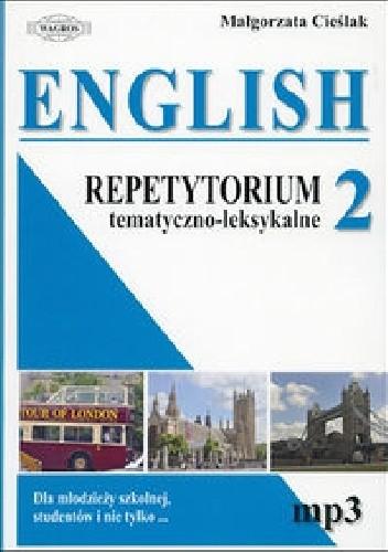 Okładka książki English 2. Repetytorium tematyczno - leksykalne.