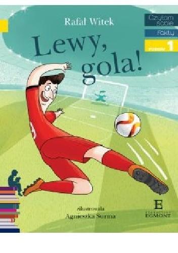 Okładka książki Lewy, gola!