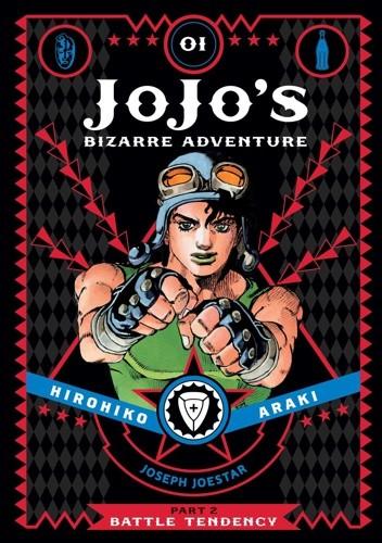 Okładka książki JoJo's Bizarre Adventure: Part 2 - Battle Tendency, Volume 1
