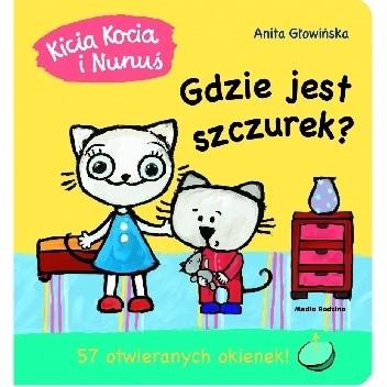 Okładka książki Kicia Kocia i Nunuś. Gdzie jest szczurek?