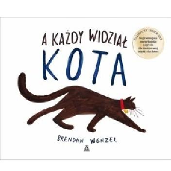 Okładka książki A każdy widział kota
