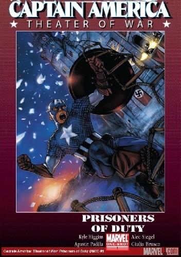 Okładka książki Captain America: Theater Of War: Prisoners Of War
