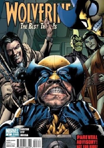 Okładka książki Wolverine: The Best There Is #3