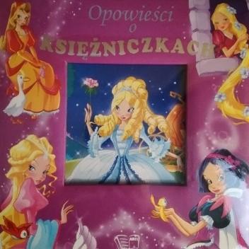 Okładka książki Opowieści o księżniczkach