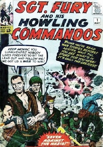 Okładka książki Sgt Fury And His Howlig Commandos Vol.1 1