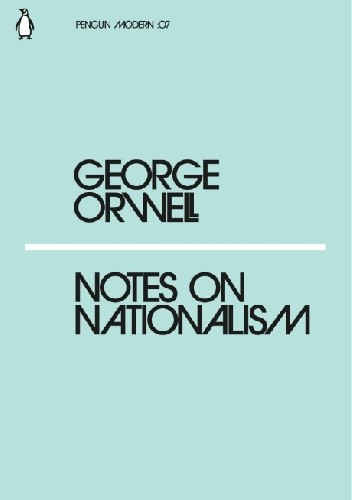 Okładka książki Notes on Nationalism