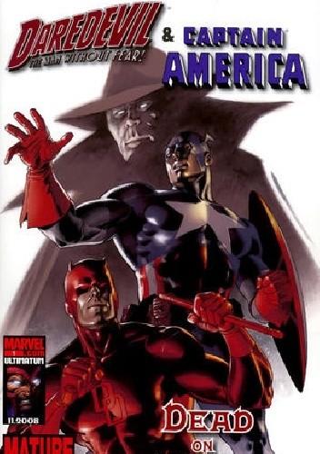 Okładka książki Daredevil & Captain America : Dead On Arrival