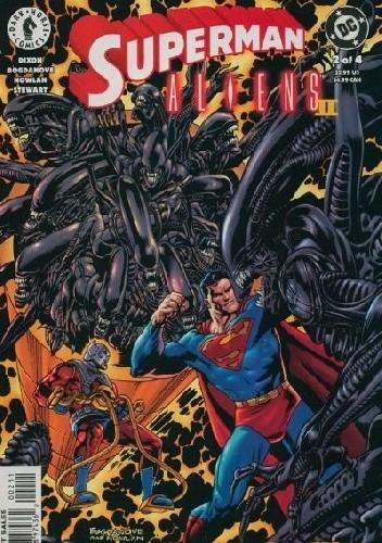 Okładka książki Superman vs. Aliens II: God War #2