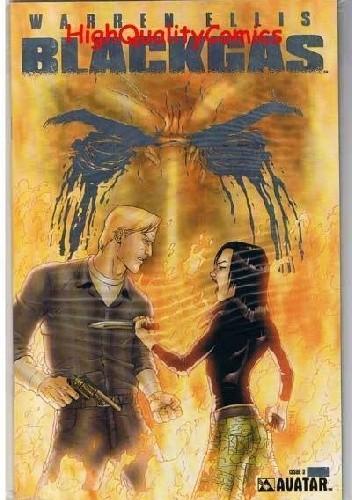 Okładka książki Black Gas #3
