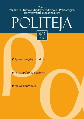 Okładka książki Politeja. Vol. 43 (2016)