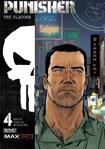 Okładka książki Punisher: The Platoon #4