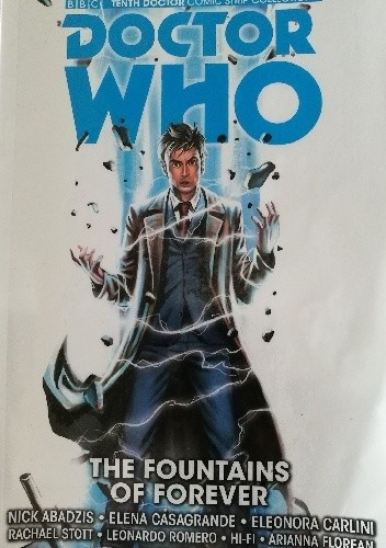 Okładka książki Doctor Who: The Fountains of Forever