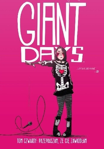 Okładka książki Giant Days #4: Przepraszam, że cię zawiodłam