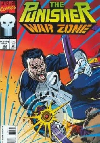 Okładka książki Punisher: War Zone Vol.1 #30