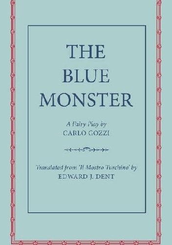 Okładka książki Błękitny Potwór