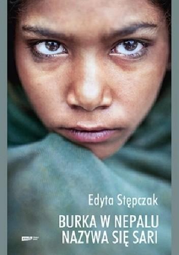 Okładka książki Burka w Nepalu nazywa się sari