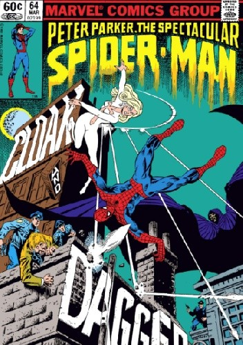 Okładka książki Peter Parker, the Spectacular Spider-Man: Cloak & Dagger